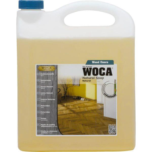 סבון לניקוי הפרקט שמן 5L ווקה (WOCA)