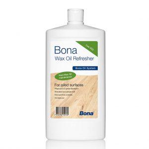 שמן לפרקט עץ -BONA wax oil refresher -שמן תחזוקה לפרקט עץ בגמר שמן - חומרי ניקוי לפרקט