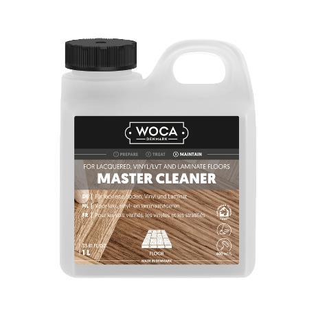 סבון לניקוי פרקט עץ בגמר לכה ופרקט למינציה (1L (Woca