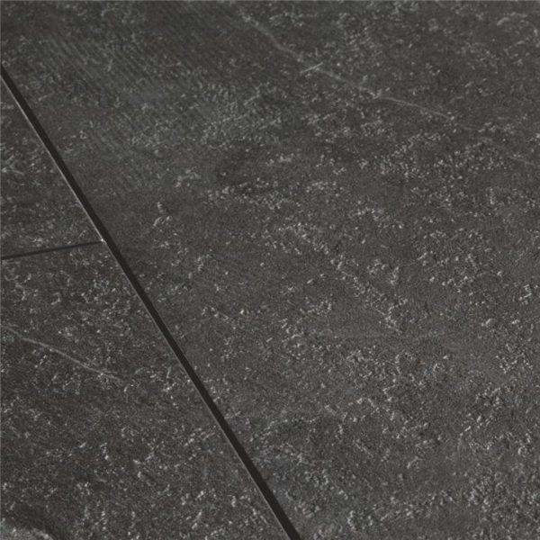 אריחי בטון, פרקט למינציה במראה שיש שחור 100% עמיד במים