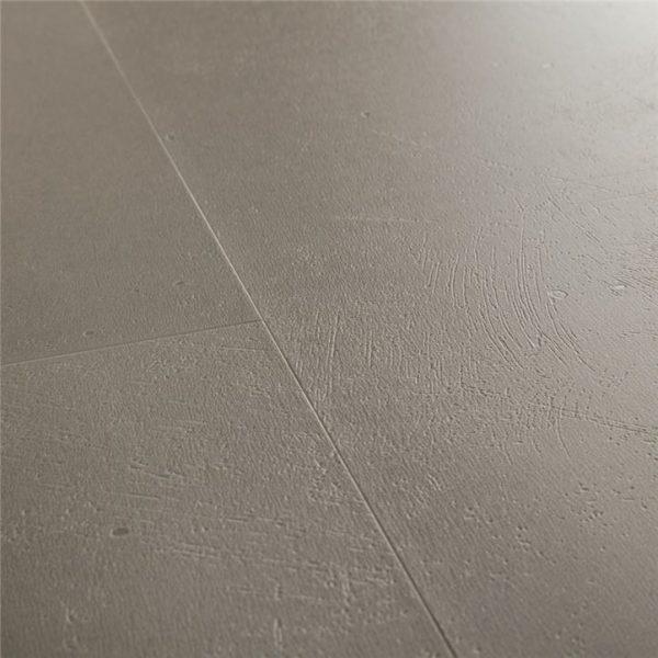 אריחי בטון ,פרקט למינציה מראה בטון חום אפור טבעי  100% עמיד במים