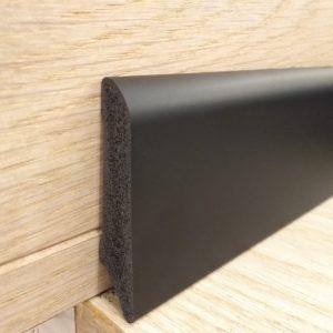 פנל פולימרי שחור לפרקט מעוגל גובה 6 מחיר