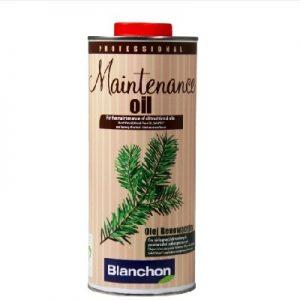 שמן תחזוקת פרקט עץ בלנשון BLANCHON מחיר בהתאמה לכמות 1/5L