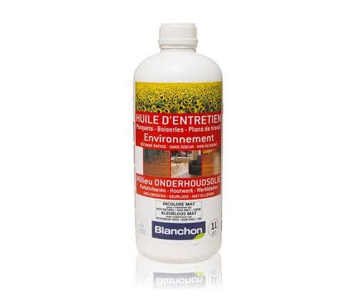 חומר תחזוקה אקולוגי לפרקט שמן 1L בלנשון (Blanchon)