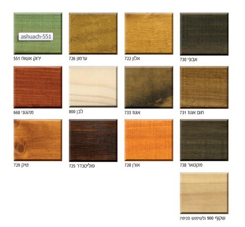 BONDEX צבע מגן לעץ חצי שקוף בגוון (בסיס מים) בונדקס אקסטרה 2.5/5L