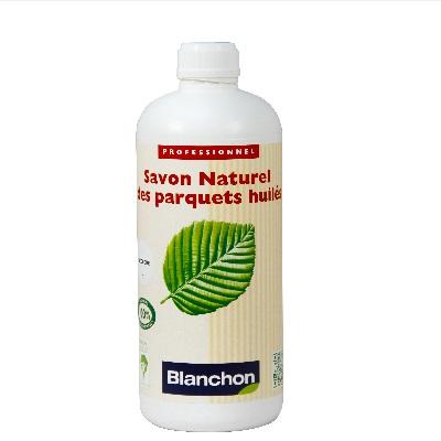 חבילה לניקוי הפרקט עץ בגמר שמן בלנשון (BLANCHON) סבון, שמן תחזוקה