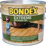 שמן דק בונדקס אקסטרים (בסיס מים) BONDEX Extreme Decking Oil 2.5/5L