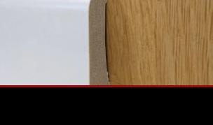 """פנל לבן פולימרי לפרקט מקור ציפור גובה 6 עד 10 ס""""מ"""